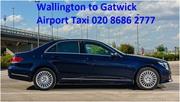 Wallington Minicabs Taxi | Gatwick Airport Taxi 020 8686 2777